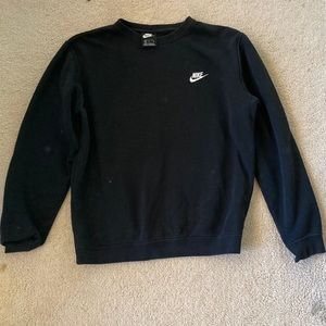 Black Nike Crew